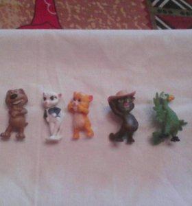 Игрушки из киндера коллекция Том