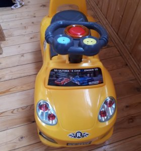 Детская машинка такси, каталка