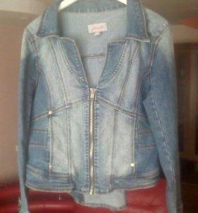 Джинсовая куртка Jennyfer, р.L