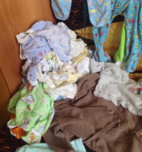 Одежда от 0 до 6 месяцев пакетом