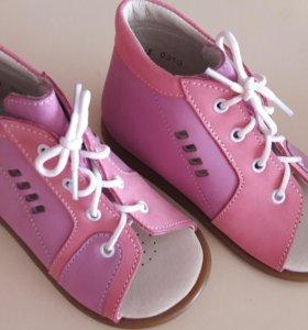 Новые туфли-ботиночки Тотто