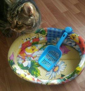 Лежанка для животных + подарок (кошки, собаки)