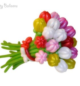 Изготовление поделок из воздушных шаров