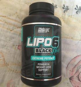 Жиросжигатели Lipo 6 black hers