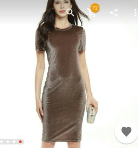 🍓Новое платье бархат🍓