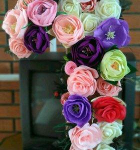 Ростовые цветы,букеты