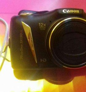 Фотоаппарат Canon PowerShot SX 130 IS + SD 4 Гб