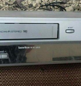 DVD плеер+видеомагнитофон