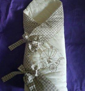 Комплект-одеялко на выписку