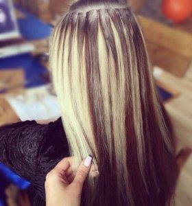 Наращивание, снятие и коррекция волос