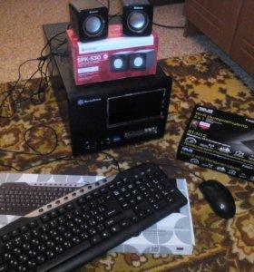 Системный блок, монитор и тд. + роутер