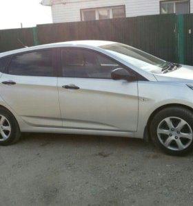 Hyundai solaris 1.4 МТ , 2013