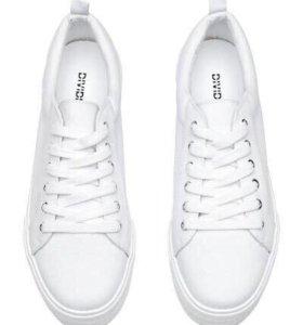 Кроссовки (Кеды )белые