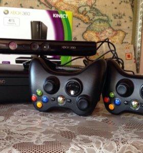 Xbox 360 4 ГБ + Kinect