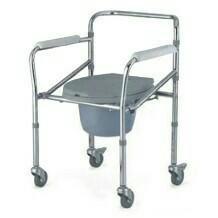 Кресло-туалет на колёсиках