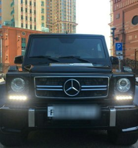 Mercedes G 463 очки фар с выступом