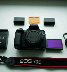 Canon 70D + 2 аккум