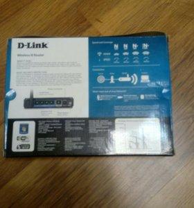 D--Link wi-fi роутер