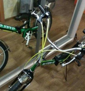 Велосипед с корзинкой 6 скоростей