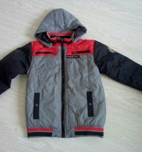 Куртка на мальчика 12-13 лет новая