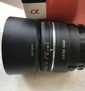Sony sal 85mm f2.8 Sam объектив полнокадровый