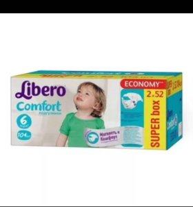 Подгузники Libero Comfort 6