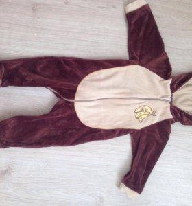 Карнавальный костюм обезьянки на новый год!!