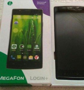 Смартфоны мегафон Login+