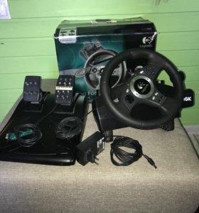 Игровой руль,Logitech Driving Force Pro