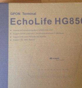 Роутер huawei echolife hg850a