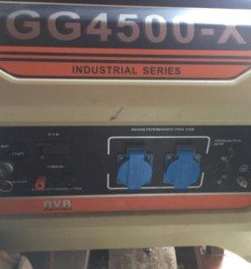 Продам бензиновый генератор GG 4500-X