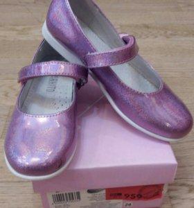 Нарядные туфли размер 28