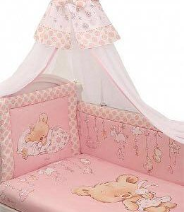 Комплект в кроватку сатин