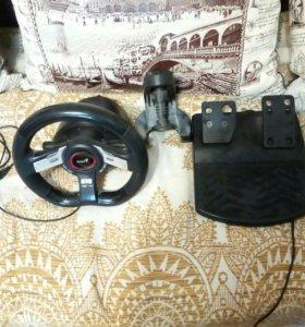 Игровой руль Genius Speed Wheel 5