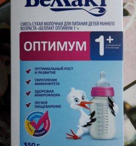 Смесь сухая молочная БЕЛАКТ 1+ от 0 до 6 месяцев