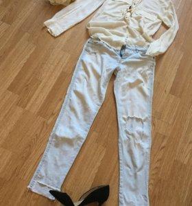 Рубашка Zara women, xs