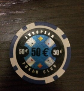 European Poker Club фишка