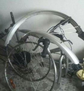 Запчасти велосипеда ,нет седушки