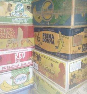 Коробка б/у, из под бананов