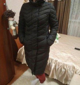 Пальто зимнее ( на синтепоне)