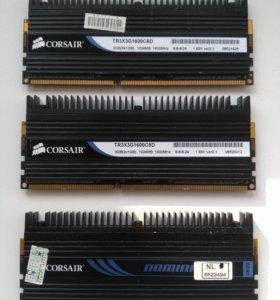 Память Corsair TR3X3G1600C8D комплект 3 шт