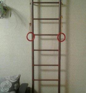 Спортивный комплекс+веревочная лестница,канат