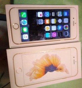 iPhone 6s gold Идеал!
