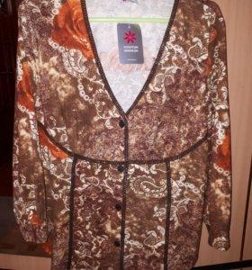 Блуза жакет
