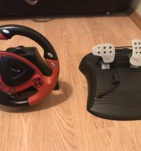 Руль и педали Genius