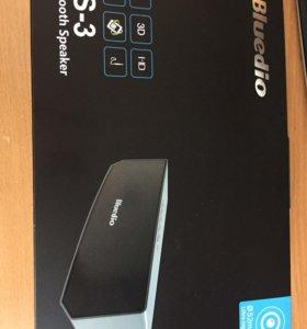 Bluetooth колонка Bluedio BS-3 новая
