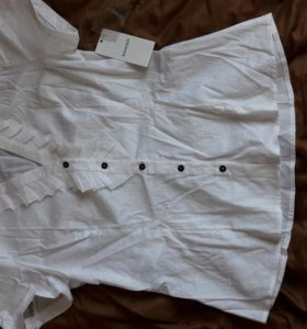 Блузка белая mango (новая)