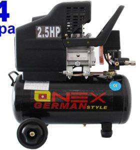Компрессор воздушный 24 литра Onex OX-1002