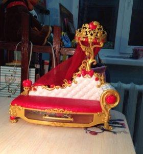 Кровать Эвер афтер хай для кукол