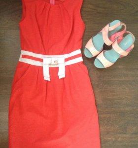 Платье + босоножки в подарок